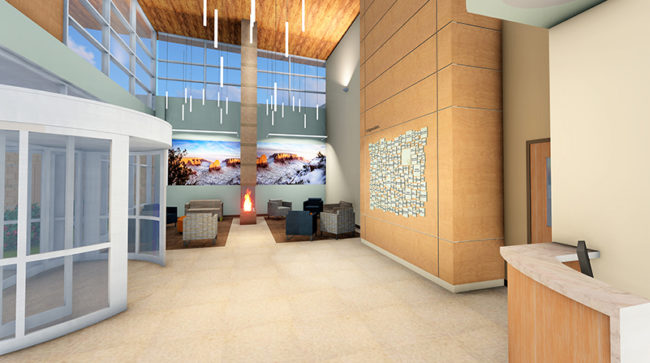 West Springs Hospital Renderings